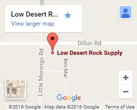 Low Desert Rock Supply on Google Maps